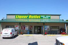Liquor Outlet Sign