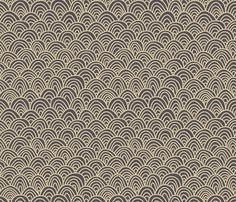 """Grey arch - feliciadavidsson - Spoonflower Available in """"performance pique"""" - hmmmmm"""