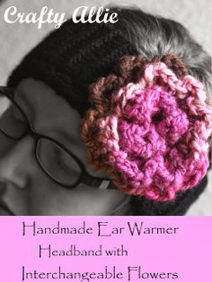 Knitted Headband Ear Warmer with Knitting loom #knifty #knitter