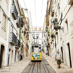 Earthpix 🌍🌏🌎: Lisbon, Portugal 🇵🇹 by Earth City, Travel Channel, Out Of This World, Lonely Planet, Old Town, Places To Visit, To Go, Around The Worlds, Street View