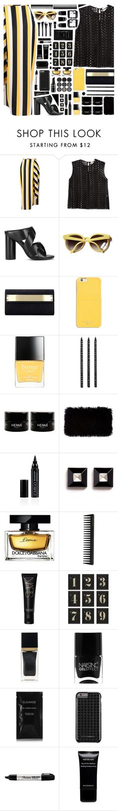 """2088 // Q u a d r i d a v y n e"" by arierrefatir on Polyvore featuring STELLA McCARTNEY, Each X Other, Senso, Linda Farrow, MICHAEL Michael Kors, Butter London, Design Letters, Donna Karan, CARGO and Givenchy"
