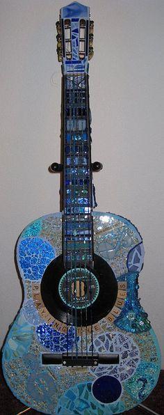 """Playing the Blues"" by green arrrt (Jill), via Flickr"