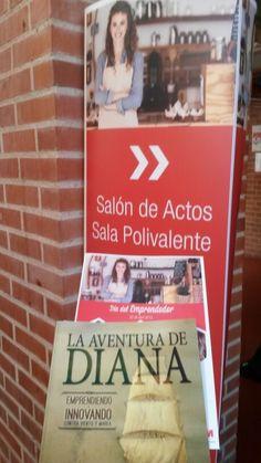 En el Día  del Emprendedor  de la Comunidad de Madrid,  inspirando en el Centro  de  Emprendedores de Fetales.  #RumboaEmprender