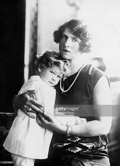 Princess Helen Of Romania, Wife Of Prince Carol With Her Eldest Son, Crown Prince Michael Around Get premium, high resolution news photos at Getty Images Romanian Royal Family, Greek Royal Family, Michael I Of Romania, Prince Héritier, Grand Duchess Olga, Royal Blood, Grand Duke, Destin, Black And White Portraits