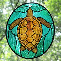 Stained Glass Sea Turtle – Andrew Fuller
