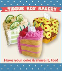 Tissue Box Bakery: Tissue Box covers for a cause.