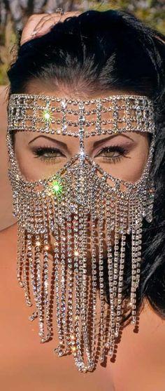 Swarovski Mask