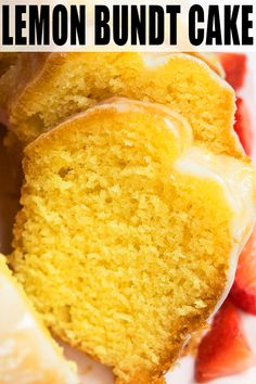 Classic, quick and easy lemon bundt cake recipe, homemade with simple ingredients. Starts off with yellow cake mix. Soft and moist with a tangy lemon glaze. Lemon Cake Mixes, Yellow Cake Mixes, Box Cake Recipes, Dessert Recipes, Drink Recipes, Easy Recipes, Easy Lemon Bundt Cake Recipe, Lemon Pudding Cake, Recipes