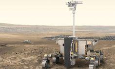 EL LUGAR DE MARTE DONDE EUROPA BUSCARÁ SEÑALES DE VIDA La Agencia Espacial Europea (ESA) eligió las dos zonas candidatas para el aterrizaje del robot de la misión ExoMars en 2021
