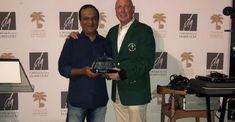 Raj Janardhan claims the 2018 Clubhouse Trophy - UAE Golf Online Emirates Golf Club, Golf Card Game, Dubai Golf, Golf Tips, Golf Courses, Lady, Coat, Miniature Golf, Shots