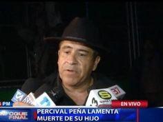 """Rafael Percival Peña: """"Yo voy ahora con paz a enterrar a mi hijo"""""""