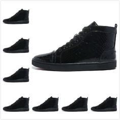 e99ba13c725aa Find More Women s Fashion Sneakers Information about 2015 New Men  amp   Women Black Snake Patent. Leather And LacePatent LeatherLeather ShoesWomens  ...