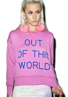Wildfox Couture Out of This World Sloan Sweater - $110
