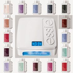 """Essie's Gel Polishes and regular nail polishes. This is a nice list because sometimes the names are different. Example, Essie's """"Pole Dancing"""" gel nail polish is the same color as Essie's """"Jamaican Me Crazy"""" regular nail polish. I love gel!!"""