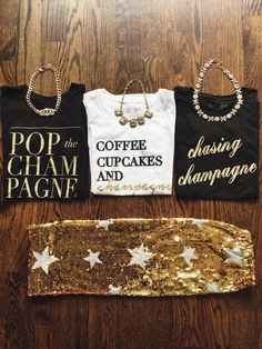 graphic tees, graphic tshirts, graphic shirts, outfit of the day, cute outfits, new years outfit, new years, champagne, new years shirt, sequins, sequin skirt, pencil skirt, how to style your sequin skirt