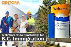 Tech Workers Get Invitations for B.C. Immigration