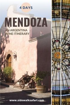 Read about fun things to do in Mendoza Argentina. Learn about a 4-day Mendoza itinerary. Sample Argentinian wine, take a walk in General San Martin Park, and enjoy the buzz on Aristedes Villanueva. Travel Mendoza Argentina for the ultimate wine-focused adventure in South America.
