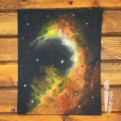 If you want to learn how to create your own galaxies you can check my Skillshare and Graphy My Etsy Store is open where I sell only originals. #watercolor #watercolorgalaxy #nebula #space Watercolor Galaxy, Watercolor Paper, Still In Love, Galaxies, Etsy Store, Orange, Yellow, Originals, Painting