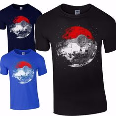 $5.99 US. Pokemon go t-shirt, excellent as a gift to somebody, who loves pokemons. Available in 2 colours. Ships free from China to almost anywhere in the world.