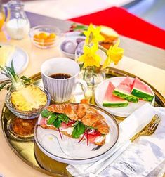 As radiant spring helps set the scene, host an easy, breezy engagement party with our delicious brunch menu. Southern Ladies, Brunch Menu, Grits, Fresh Rolls, Make It Yourself, Lady, Ethnic Recipes, Instagram, Blossoms