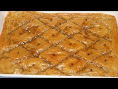 Μπακλαβάς παραδοσιακός με καρύδι - ο καλύτερος που φάγατε ποτέ! | Greek Cooking by Katerina - YouTube Desserts With Biscuits, Greek Sweets, Greek Recipes, Cakes, Food, Youtube, Mudpie, Cake Makers, Hoods