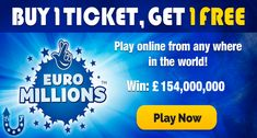 Euro millions lottery online sweepstakes international program