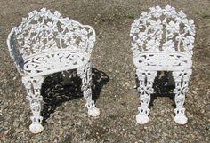 Vintage Iron Outdoor Furniture | Grapes U0026 Vine Cast Iron Garden Furniture    Provenance Mill Works