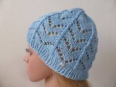 Items similar to Woman's knit summer hat sky blue beach hat beanie crochet ladies natural fibers cotton on Etsy Knitted Hats, Crochet Hats, Summer Hats, Sun Hats, Beanie, Sky, Knitting, Trending Outfits, Unique Jewelry