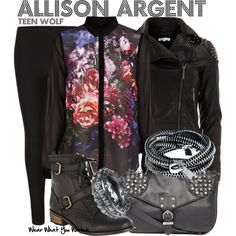 """Teen Wolf"" by wearwhatyouwatch on Polyvore"