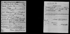 Waino Urho Laven - Yhdysvaltojen Ensimmäisen maailmansodan kutsunnat 1917-1918 - MyHeritage My Heritage, Sheet Music, Historia, Music Sheets