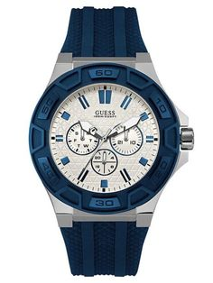 The blue spectrum expands into lighter hues inspired by the summer sky. Easy to wear, SKY BLUE continues our ICONIC trend of denim friendly tones that are subtle yet striking. Mens Sport Watches, Watches For Men, Guess Watches, Smartwatch, Stainless Steel Jewelry, Watch Case, Watches Online, Seiko, Omega Watch
