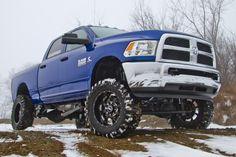 blue dodge ram