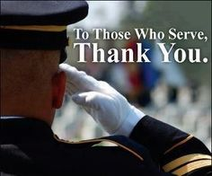 Memorial Day should not be celebrated on just one day! To all the soldiers we appreciate your sacrifice everyday!