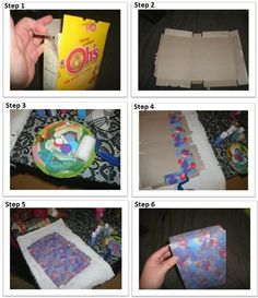 DIY Gift box! Also works for wrapping paper-simply use a brown bag.