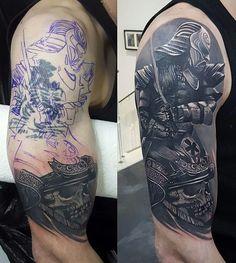 Repair Cover Up Tattoos For Men, Dragon Tattoos For Men, Black Tattoo Cover Up, Cover Tattoo, Tattoos For Guys, Forearm Band Tattoos, Leg Tattoos, Black Tattoos, Arm Tattoo