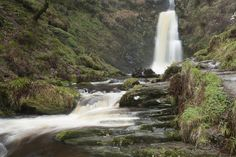 Who needs fairy tales when you can just soak up the atmosphere at Pistyll Rhaeadr.