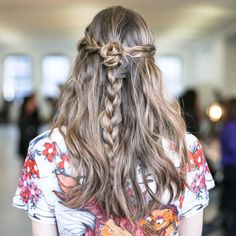 Fall Hair Trends to Try: Braids revisited at Rodarte