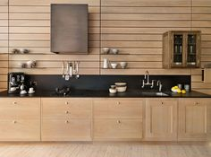 Teddy Edwards Silverstone range - love how you can't even tell there's a cook top in the counter