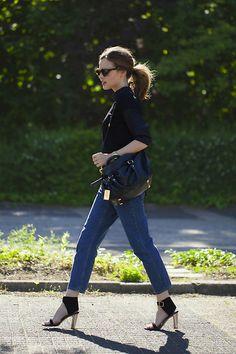 Karen Walker Sunglasses, Marc By Marc Jacobs Bag, Cos Jeans, Céline Shoes