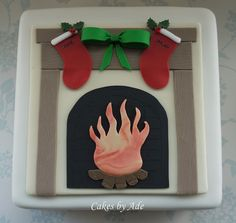 2011 Christmas Cakes - For Dylan & Jodie 028 (w) by Cakes By Ade (from Ade's Piccies), via Flickr