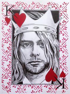 Kurt Cobain - King of Hearts | Patrushka