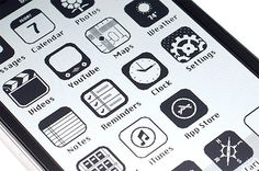 iOS '86: The Macintosh iPhone by Anton Repponen  Retro-inspired iPhone interface by Russian Creative Director Anton Repponen.