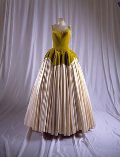 """Petal"" Charles James (American, born Great Britain, 1906–1978) Date: 1951 Culture: American Medium: silk"
