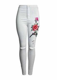Baymate Pantalones Cintura Alta para Mujer vaqueros 2 pantalones Pantalones mujer Cintura Alta Baymate Noe.Moda   Supernatural Style
