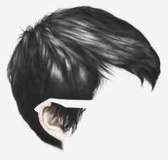 Amazing hair drawn by   Langdon Graves  http://cargocollective.com/langdongraves/filter/drawing