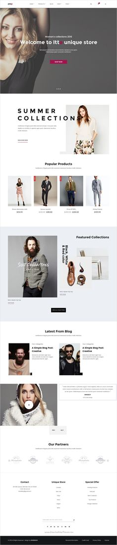 Etto is a clean and unique design responsive #WordPress #eCommerce theme for online shopping #fashion #stores website using latest trendy material design with 4 different homepage layouts download now➩ https://themeforest.net/item/itto-multistore-ecommerce-wordpress-theme/17931977?ref=Datasata