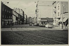 Praha ŽIŽKOV Koněvova ul. 1972 Text Pictures, Old Pictures, Old Photos, Czech Republic, Historical Photos, Prague, Photo Art, Street View, Black And White