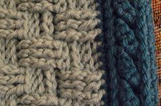 CloseUp of Cable of Aran Prayer Lapghan by teatimelover, via Flickr