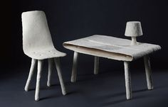 muebles hecho con azúcar. furniture made from sugar.19bis.com