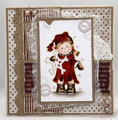 Red Christmas card - 2012